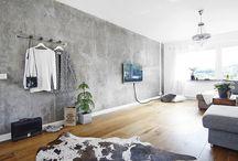 beton interiér