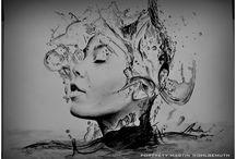 My art / pencil drawings