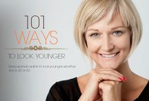 101 Ways to Look Younger / Every woman wants to look younger, whether she is 30 or 60.  / by Tyng Tan