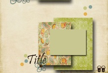 Scrapbooking sketches / Great scrapbooking and stamping sketches - perfect for kick starting your creativity.