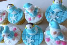 Cupcakes e Popcakes Natalinos