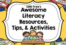 Awesome Literacy Resources, Tips, and Activities / Great Literacy and Word Work Resources, Tips, and Activities for Primary Teachers.