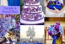 Bright themed wedding