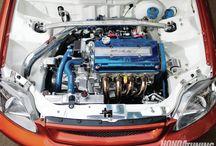 Engine bay