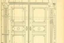 двери чертежи