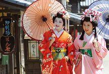 Gejša kimono
