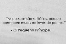 O pequeno principe / by Christiana Chagas