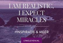 Inspiratie en meer - Lymeleven / Quotes voor blog lymeleven Inspiratie