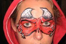 Čert   make up