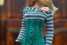 Barbie knitted Clothes