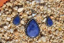 Lapis Lazuli / Prachtige Sets van Zilver met lapis lazuli halfedelsteen