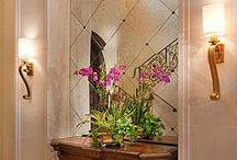 HOME AND DESIGN: FOYERS, HALLWAYS, STAIRCASES AND GRAND ENTRACES / by ✨✨ Kris K. Turrubiates ✨✨