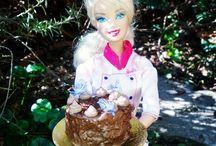 Barbie as a Food Stylist & Food Photographer