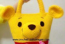 baby's crochet bag