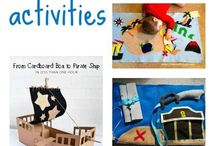 After school club activities / Ideas for various activities for the children at after school clubs.