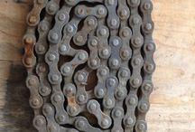 Vintage bike chain