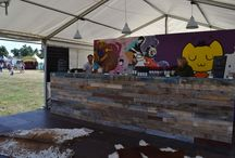 The Big Feastival 2013 & 2014 / Argentine Wine Bar at Jamie Oliver's Big Festival, Cotswolds, UK
