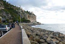 Menton - Montecarlo - Bord de mer / Una bella passeggiata lungo la costa fra Menton e Montecarlo