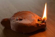 Oil  Lamps / Clay or Glass or Bronz  Oil Lamps