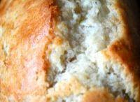 Cocos banaan brood / Eten
