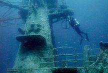 Diving/ fishing