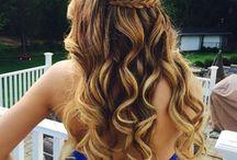 penteados comprido