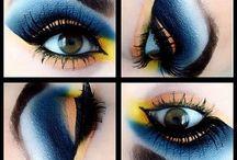 Dramatic Eyes / #dramatic #gel #eyeliner #eyes #drama #sexy #exotic