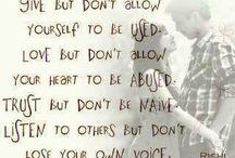 quote / by Nikki Avdem