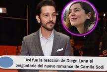 Así fue la reacción de Diego Luna al preguntarle del nuevo romance de Camila Sodi