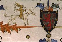 heraldique chien lévrier - sighthound