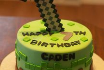 cakes Minecraft for boys
