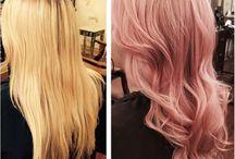 Rosé Gold Hair