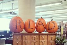 Library displays October