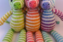 Knitted toys / Knitting