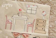 Домики / Милые разнообразные домики из ткани