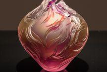 Glass, cristal, rock cristal / Sticla....
