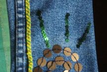 Denim and fabric upcycling...