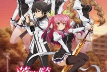 Rakudai kishi no cavalry/The tale of the worst one