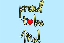 Proud to Be Me / Posts & Pins for November's Proud to Be Me Campaign.  / by Mamamarathoner