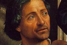 Доменико Гирландайо (Domenico Ghirlandaio). / Один из ведущих флорентийских художников кватроченто, основатель художественной династии, которую продолжили его брат Давид и сын Ридольфо. Глава художественной мастерской, где подвизался юный Микеланджело. Википедия