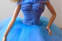 vestiti barbie crochet