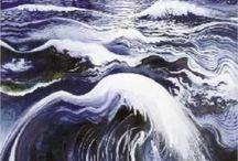 Waves brett whilteley