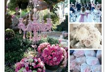 Dreamy Pink and Gold Wedding