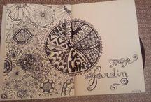 Mixed Média - Doodling / Mixed Média - Doodling