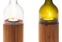 Lâmpadas com vela