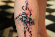 Dance tattoos