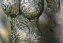 sztuka z metalu