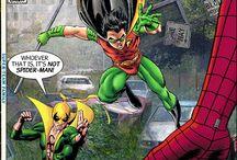 comic robin fist