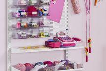 Craft storage & organising / Storage solutions and organising craft materials