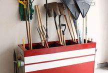 diy garage makeover / by Pauly Olly Oxenfree